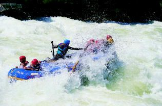 White Water Rafting Locations and Companies/Operators in Zambia