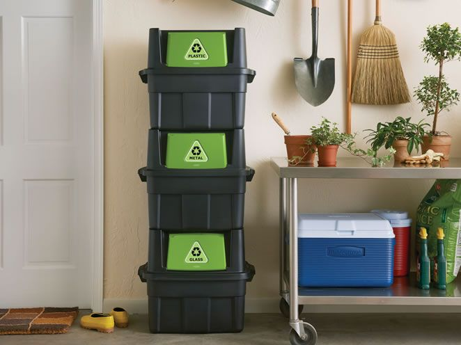 Best Recycling Solutions Images On Pinterest Recycling Bins