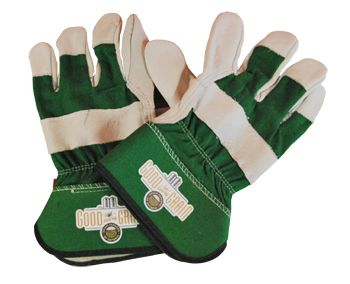 Work gloves- leather, lightly lined