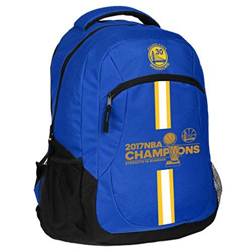 Golden State Warriors 2017 NBA Champions Steph Curry #30 Action Backpack  http://allstarsportsfan.com/product/golden-state-warriors-2017-nba-champions-steph-curry-30-action-backpack/  Measures approximately 18″ x 13″ x 8″ Durable 600 denier material Air-mesh padded handle, back & straps