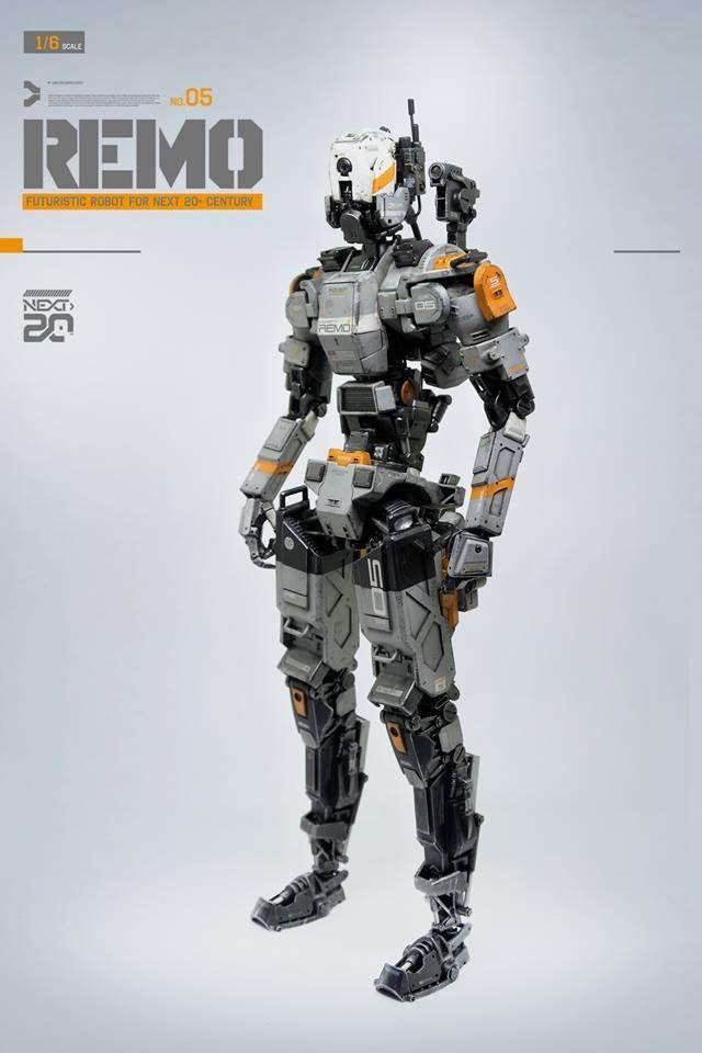 ▓ REMO ▓ ﹝ 1:6 scale Robotic scratch build &…