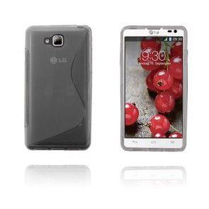 S-Line (Läpikuultava) LG Optimus L9 II Suojakuori