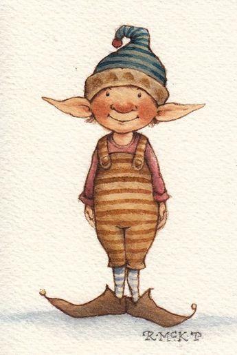 Süße Elfen malen –  – #zeichnungen