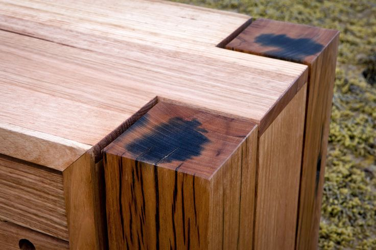 Iron Staining in recycled timber