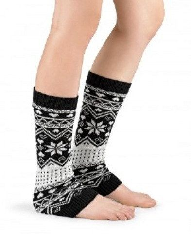 WOMENS KNIT LEGWARMERS Legwear Boot Cuffs Printed Leg Warmer Knit Boot Socks Long Leggings Women Winter Boot Accessories Gift Ideas Under 20 by GrahamsBazaar, $17.99