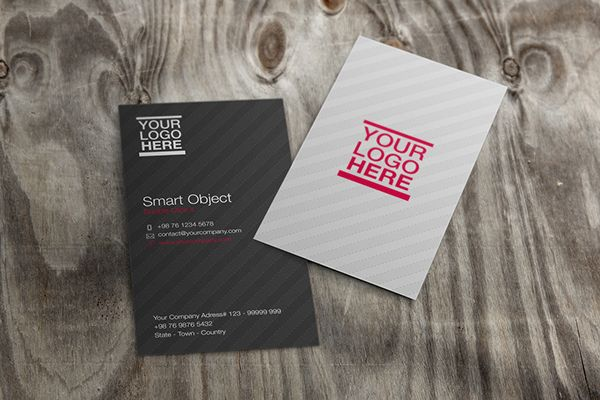Free PSD Mockup - Business Card Vol 2 on Behance