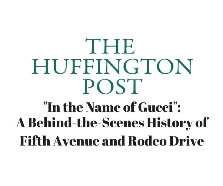 """Dennis Koutoudis quoted on the Huffington Post at """"In the Name of Gucci"""": A Behind-the-Scenes History of Fifth Avenue and Rodeo Drive.  http://www.huffingtonpost.com/entry/in-the-name-of-gucci-a-behind-the-scenes-history_us_57d07005e4b0f831f7069542 #LinkedSuperPowers"""