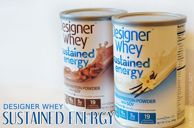 Designer Whey | sustained energy #protein #giveaway and review