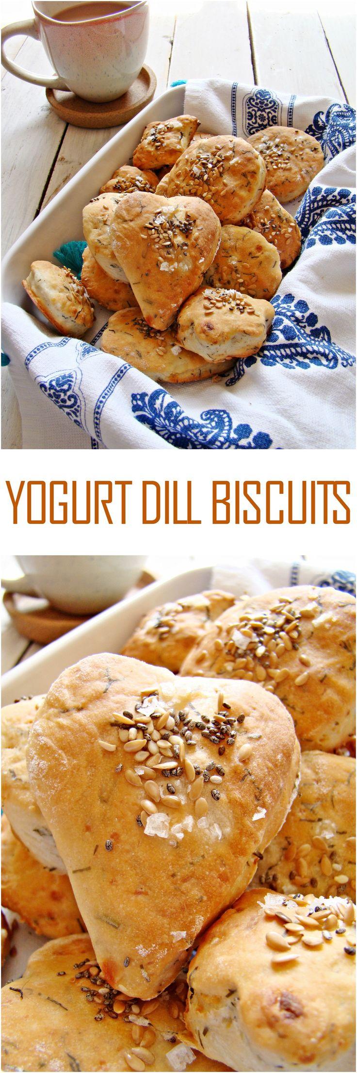 Yogurt Dill Biscuits
