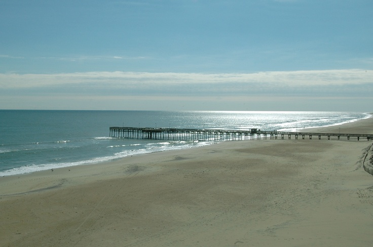 View of the fishing pier located next to the sanctuary at for Va beach fishing pier