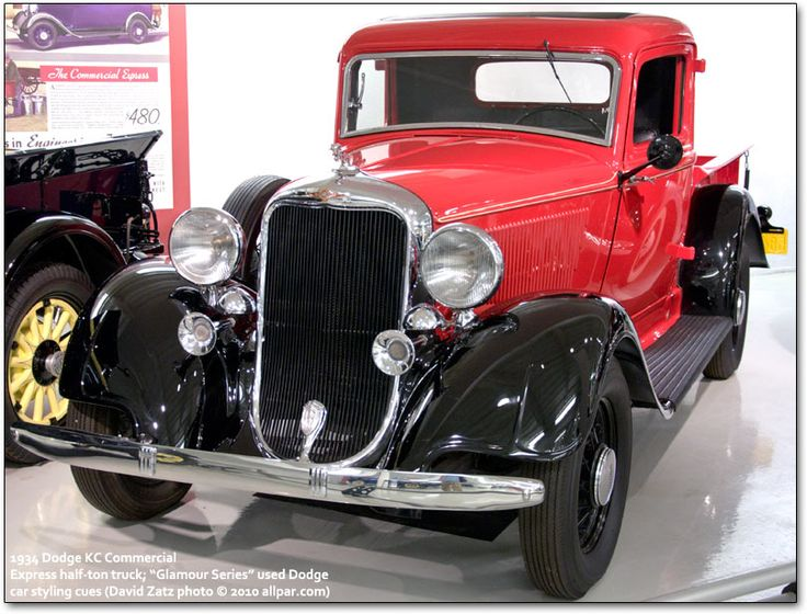 This 1934 Dodge KC pickup truck had a modified stock