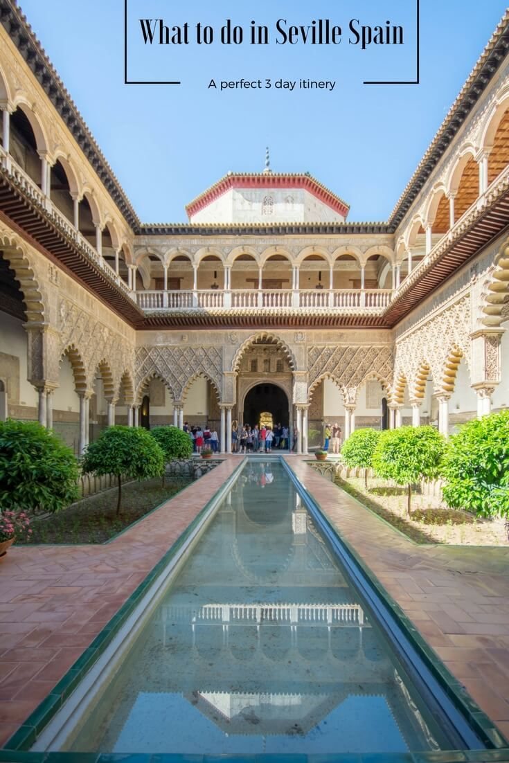 Spending 3 days in Seville Spain is an amazing experience. We have all the Seville attractions covered for you. From Roman ruins, Cathedrals, Royal Palaces and game of thrones sights.  Tips for accommodation and transport. . #Seville #Sevilla #VisitSeville #Andalusia #Italica #realalcazar #plazaespana #sevillebullring #giralda #spain #exploreeurope #winter #sevilleattraction . . Things to do in Seville | Things to see in Seville | Seville itinerary  | Visiting Seville | What to do in Seville…