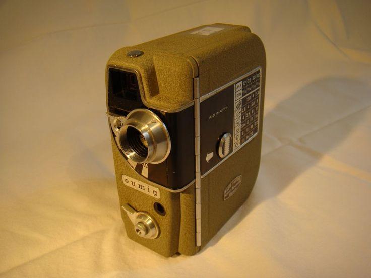Filmkamera Eumig Electric bei HIOB Winterthur  #Schnäppchen #Trouvaille