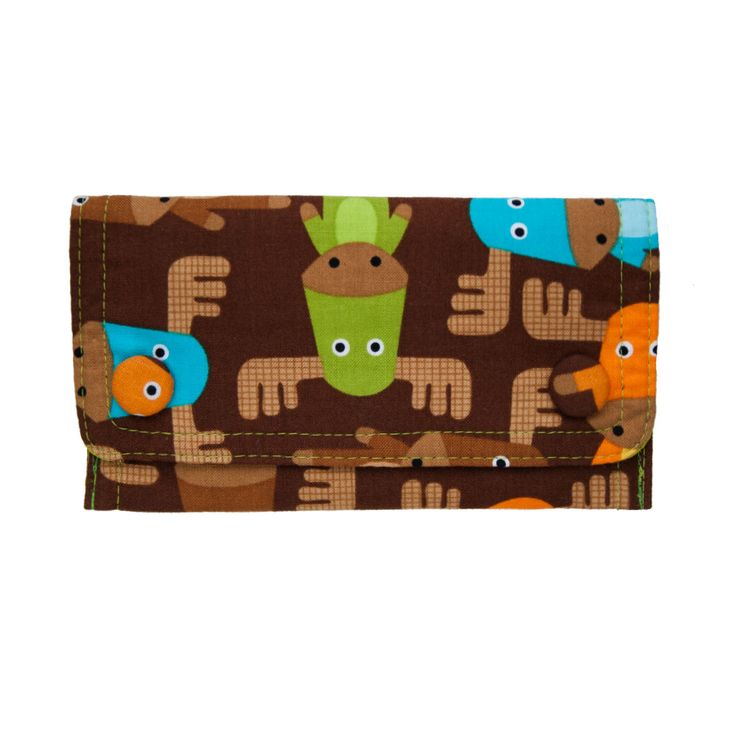 Mujbag smokie Loslos is the practical tobacco case made from 100% cotton with awesome moose!