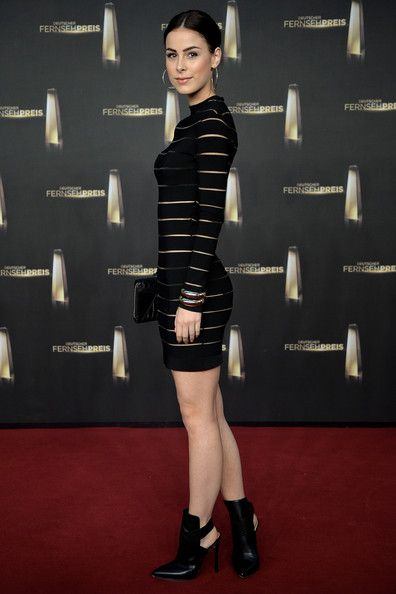 Lena Meyer-Landrut Photos: Arrivals at Deutscher Fernsehpreis