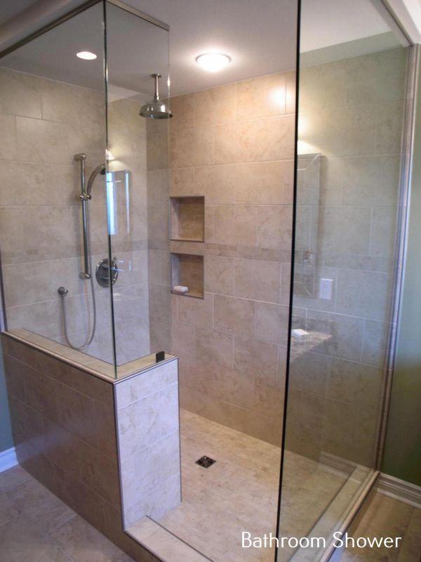 Hottest No Cost Bathroom Shower Doorless Popular Trying To Keep Your Bath Room S Bath Bathroom In 2020 Bathroom Shower Design Bathroom Design Small Small Bathroom