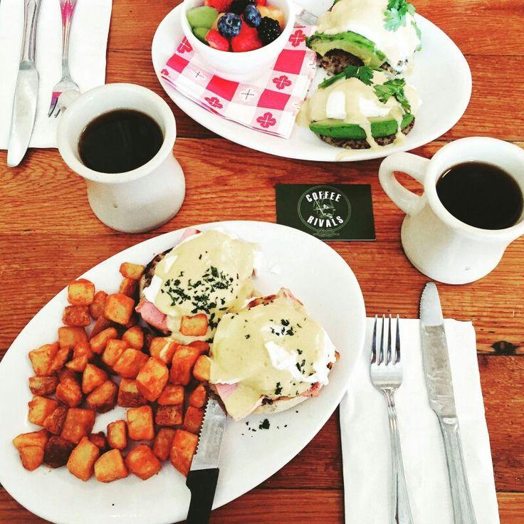 #coffee and #breakfast in #washington! #coffeerivals #coffeetravels #coffeetime #koffietrip #koffiemoment