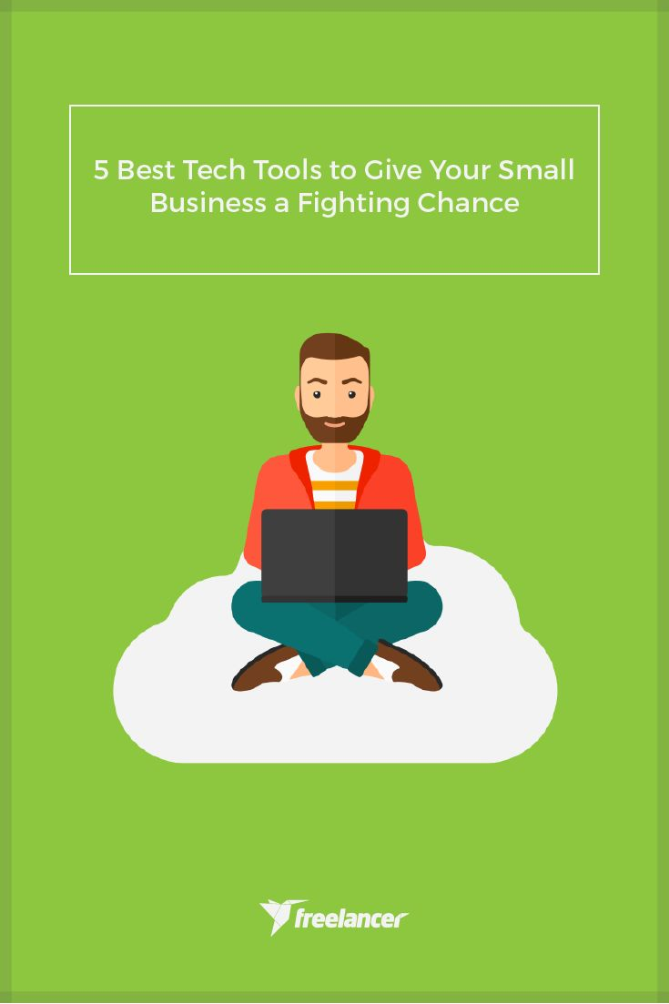 5 Best Tech Tools to Give Your Small Business a Fighting Chance  #business #startup #smallbusiness #entrepreneurship #entrepreneurs #businesstips #employertips #freelancer