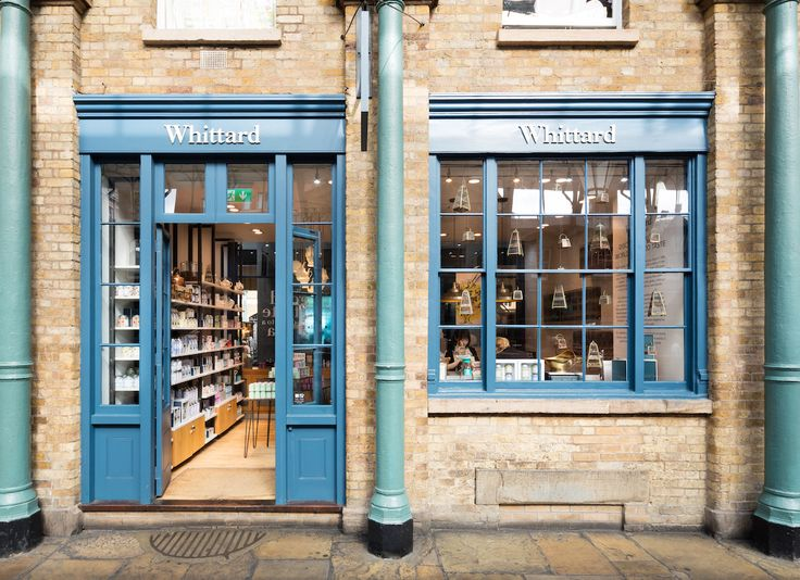 Whittard Covent Garden shop with hidden tea bar downstairs #london #afternontea #thingstodoinlondon