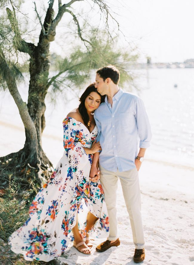 Coastal Engagement Photos In Tampa Florida Inspired By This Engagement Photo Outfits Summer Engagement Picture Outfits Engagement Photo Outfits