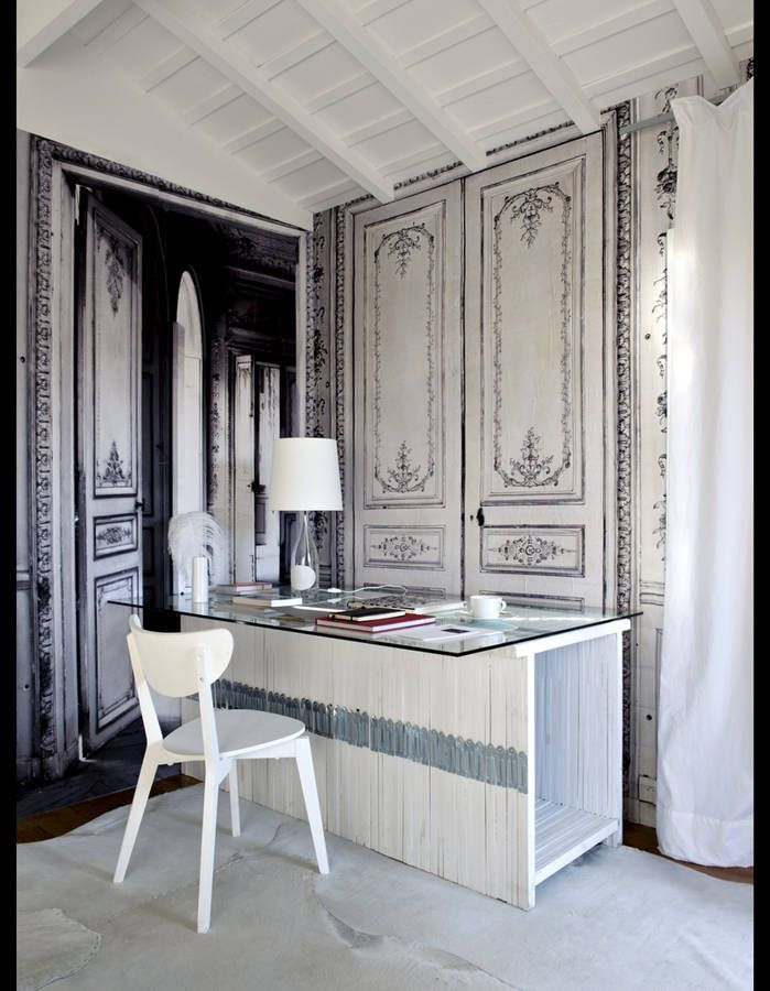 les 72 meilleures images du tableau trompe l 39 oeil sur pinterest peintures murales peintures. Black Bedroom Furniture Sets. Home Design Ideas