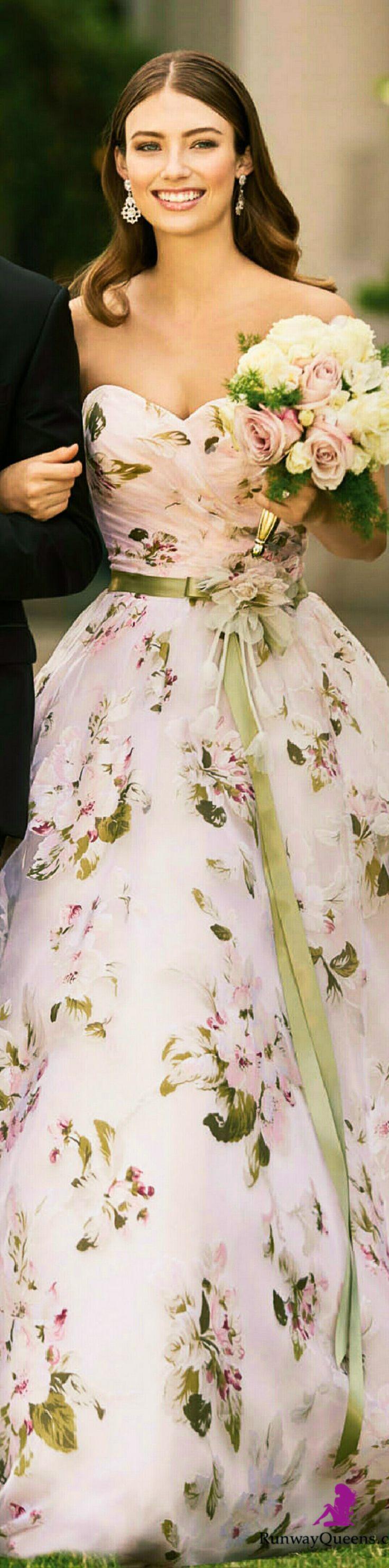 David Tutera, Bridal 2017, flowery, pink