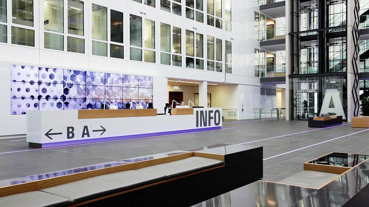 MESO: Fraport Headquarters: Visitor Media Systems, Real-Time Information Wall. Our Friends at communications agency Hauser Lacour were taske...