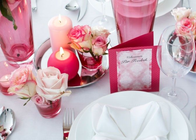 Pink decoration, what my princess wish for :)