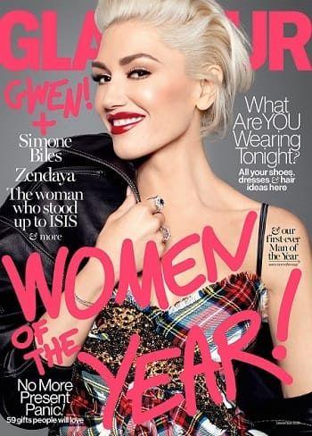 La chanteuse Gwen Stefani en cover de Glamour US  #gwenstefani #revlon #maquillage #beauté #makeup #beauty #ambassadrice #glamour #monvanityideal   Plus d'articles sur www.monvanityideal.com