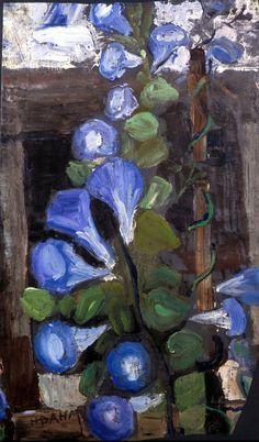 Helen Dahm (1878-1968) was een Zwitserse kunstenaar en een volgeling van de expressionistische beweging. Haar vroege werk, met de hand gedrukt weefsel prints, meestal expressionistische stijl. In de vroege jaren 1930, Helen leed aan een ernstige depressie en deed heel weinig kunst. Ze kreeg erkenning laat in het leven. In 1967, op de leeftijd van 89, had ze haar eerste grote overzichtstentoonstelling in Zwitserland.