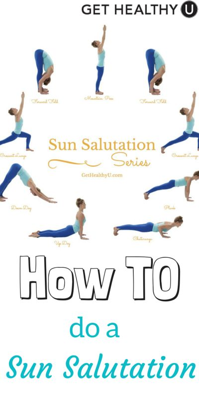 Sun salutations have amazing benefits to make you stronger, burn calories, and stretch nearly every muscle in your body. So let's look at the who, what, why, and how of the sun salutation!