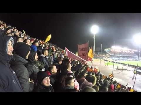 Ultras As Roma - Empoli Roma 27 02 2016 cori stadio - YouTube