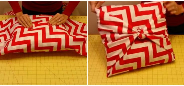 pillows | Easy Way to Make a Beautiful No-Sew Pillow Sham