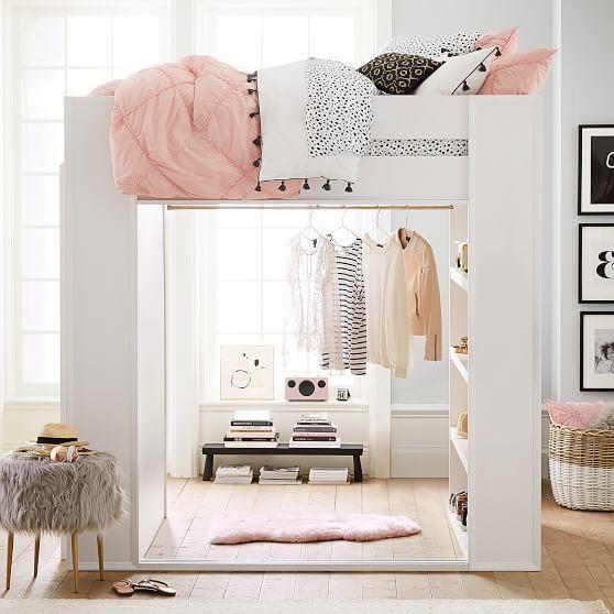 Sleep & Style Wardrobe Loft Bed