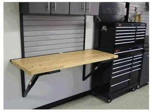 Out Of The Box High Quality Folding Garage Workbench Garage Folding  Workbench Brackets Home Improvement Tips From Our Interior Designer,  Jacqueline B.
