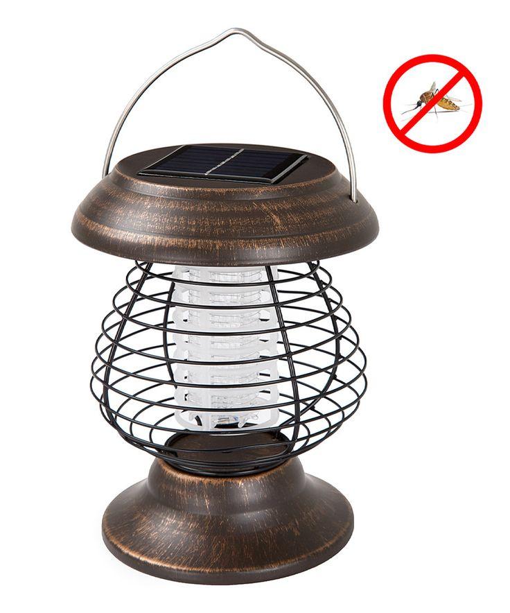 Look what I found on #zulily! Solar-Power Mosquito Zapper Lantern by Trademark Global #zulilyfinds