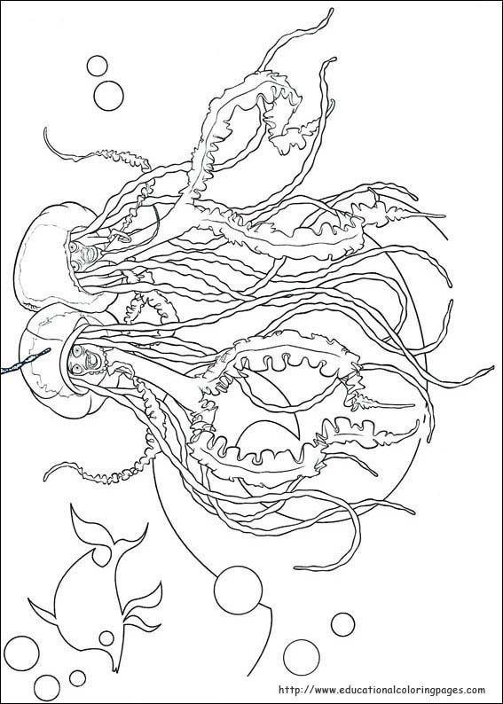 Pin By Clara Cretu On Line Art Colouring Book Shark Tale