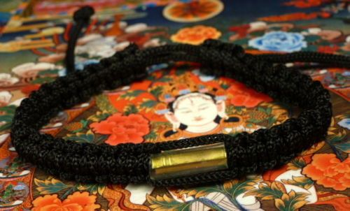 Buddha-Sacred-BRACELET-blessed-by-Buddhist-Monk-BLACK