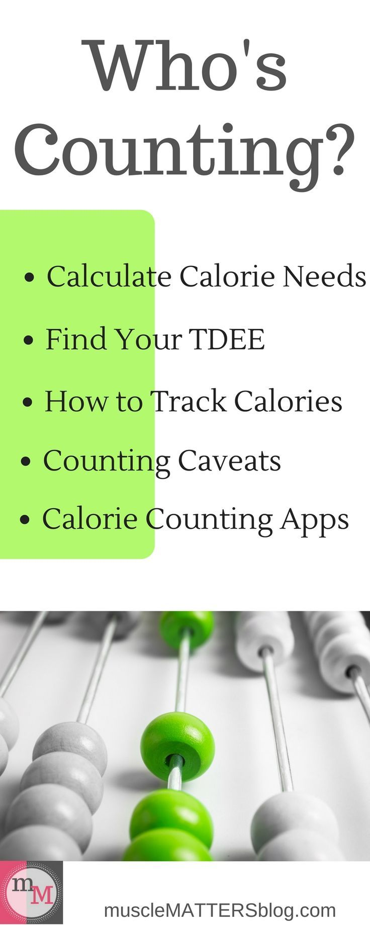 Who's Counting? | Your weight loss source for tracking calories and flexible dieting. Everything you need to know, from calculating the amount of calories you need, to calorie tracking apps, you'll find it all here. Click the image above to begin losing weight in the most efficient way possible.