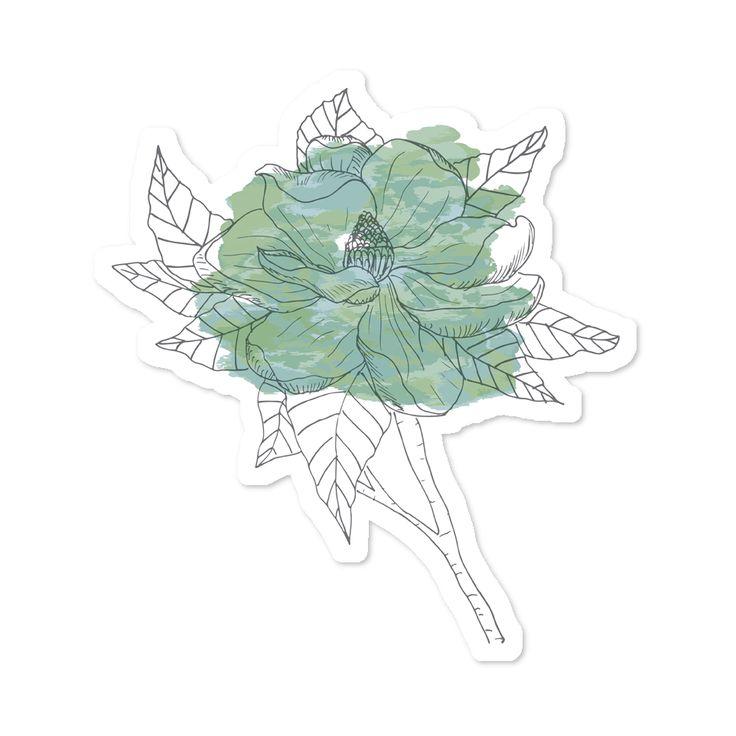 Compre Flores de Aquarela - verde de @sarahstehling em adesivos de alta qualidade. Incentive artistas independentes, encontre produtos exclusivos.