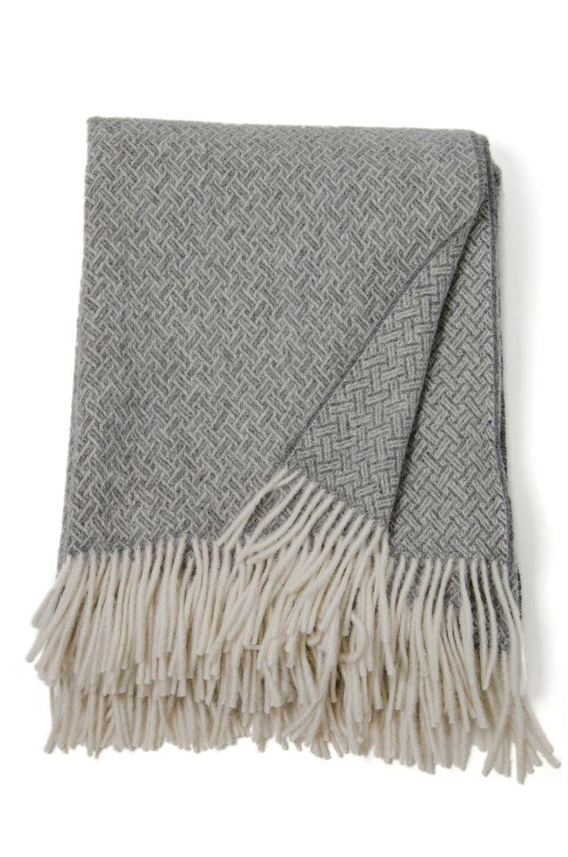 #LinenWay #Throw #Alpaca & Lambswool #Wool Throw @Basketweave Patterned Throw #Warm Throw #contemporary throw