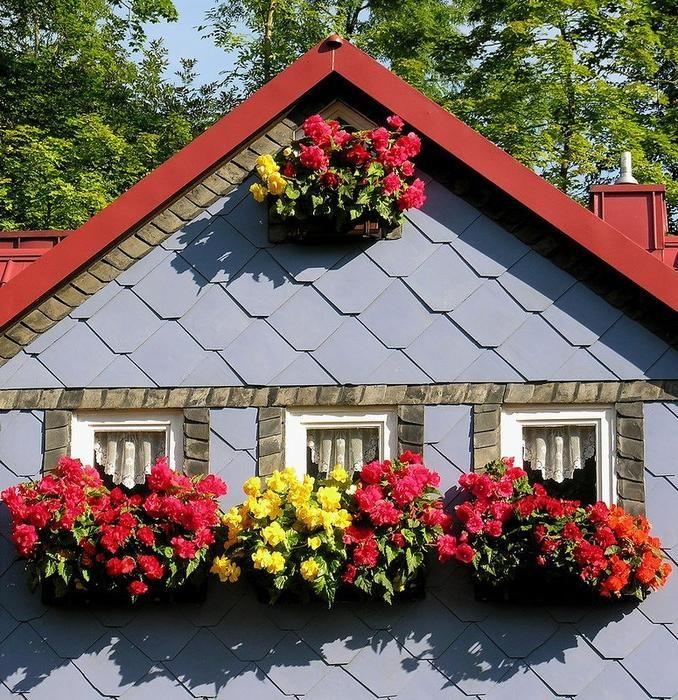 Сказочные деревенские дома Тюрингии