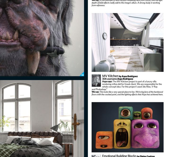 One more #publication for m1tos  Thank you @3DArtist  #3dartist #magazine #m1tos #3d