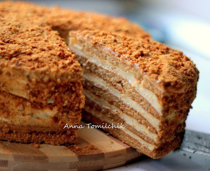 Yummy Lab : Детские воспоминания и торт Медовик
