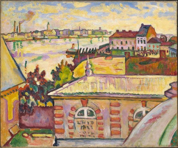 Georges Braque - Antwerp, 1906.