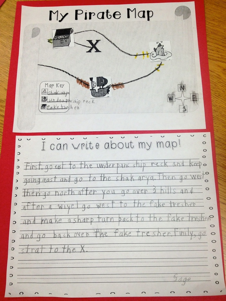 Procedural writing made fun... Try actually searching for the treasure