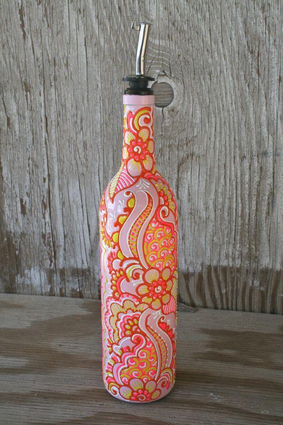 Best 25 bottle vase ideas on pinterest wine bottle for Wine bottle crafts for sale