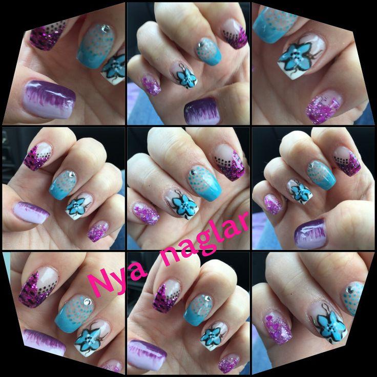 Mina naglar gjorda av Maria