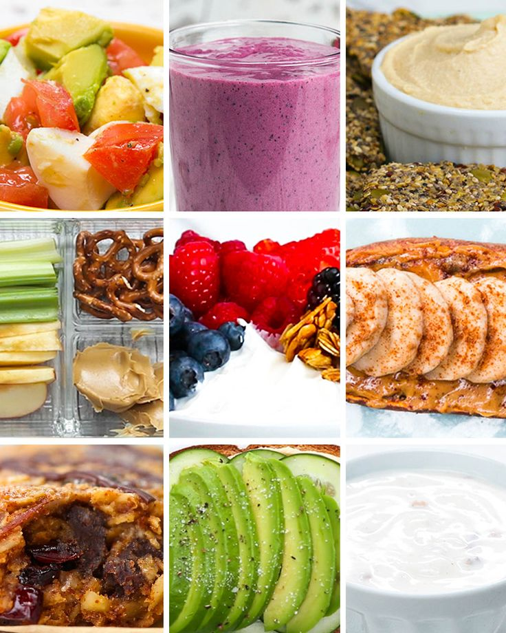 9 Healthier Workout Snacks by Tasty