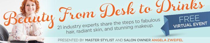 Beauty from Desk to Drinks - Sugar Salon Beauty tips Hair tips beauty expert